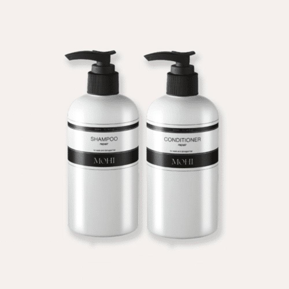 Mohi Wash & Care Package (Shampoo 300ml & Conditioner 300ml)