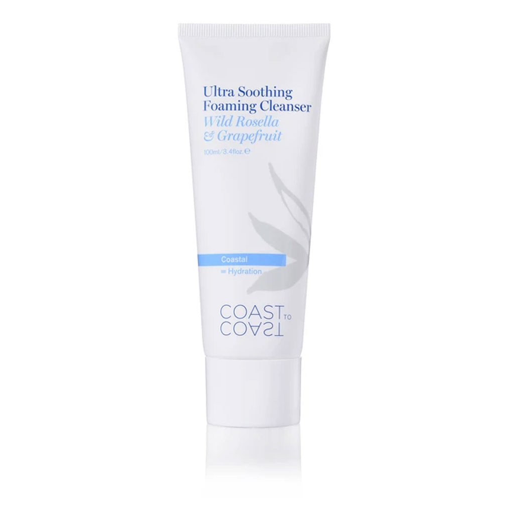 Coast To Coast Coastal Ultra Soothing Foaming Cleanser - 100ml